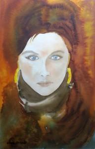 Portrait 3  Größe 38 x 56 cm